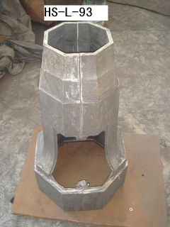 street light pole base