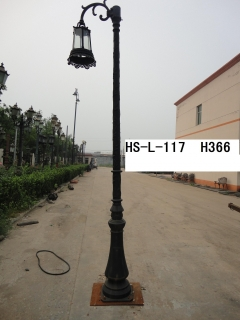 3.6M street lighting pole