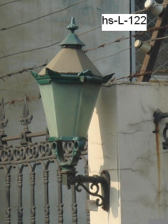 outdoor street lamp head