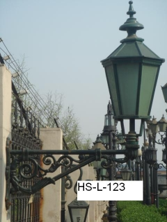 garden lamp post head