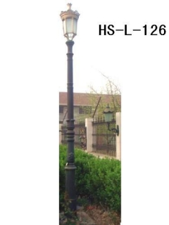 cast iron light pole
