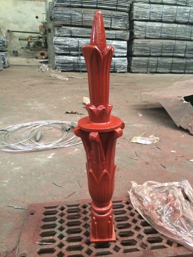 Decorative Cast Iron Street Light Pole Parts Spanish