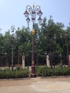 decorative lamp pole