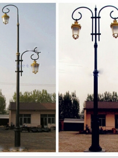 Decorative lamp post factory