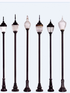 aluminum lighting poles